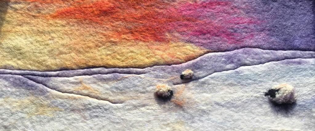 Winter Sun III, by Sue Lewis