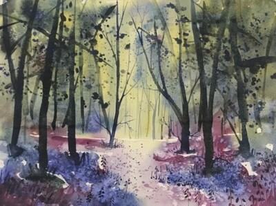 Dancing Trees & Sunbeams, by Jenny Ulyatt
