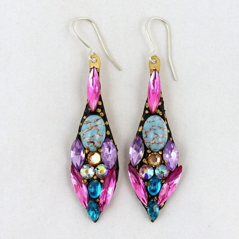 Vintage Bead Earrings, by Annie Sherburne