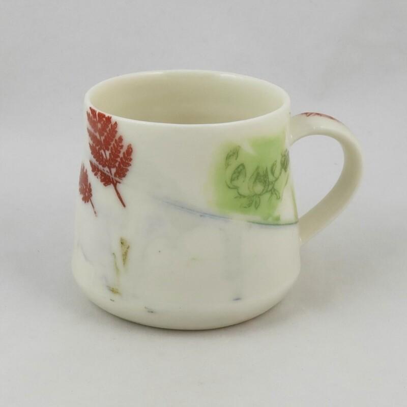 Small Porcelain Mug, by Helen Harrison