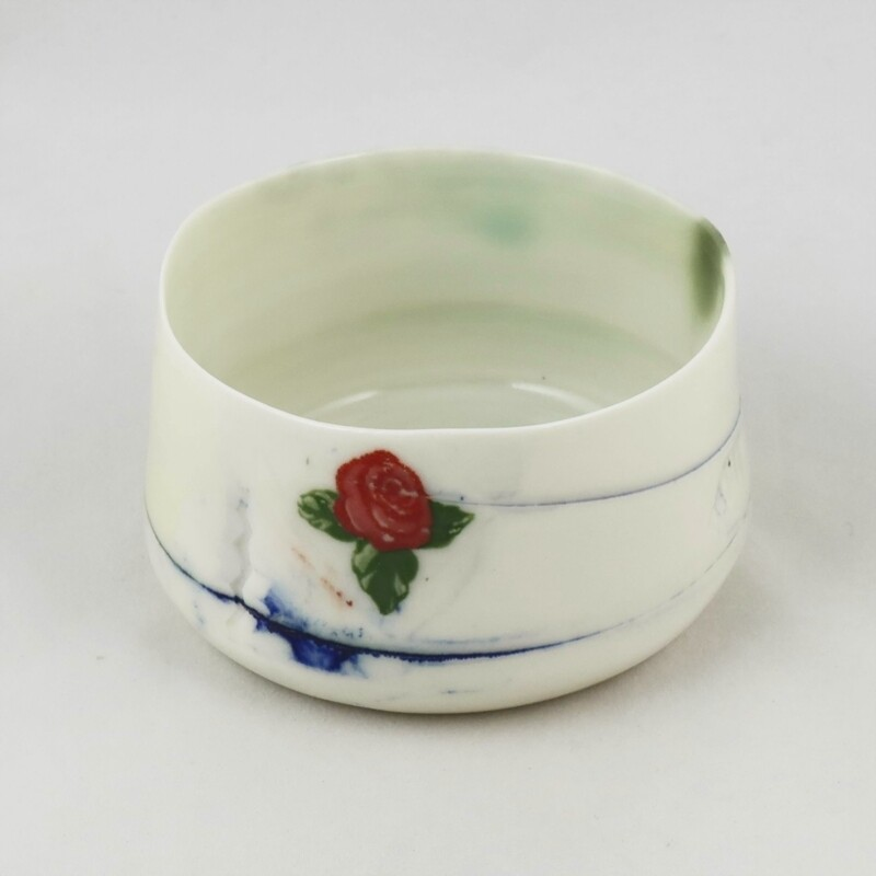 Small Porcelain  Bowl by Helen Harrison