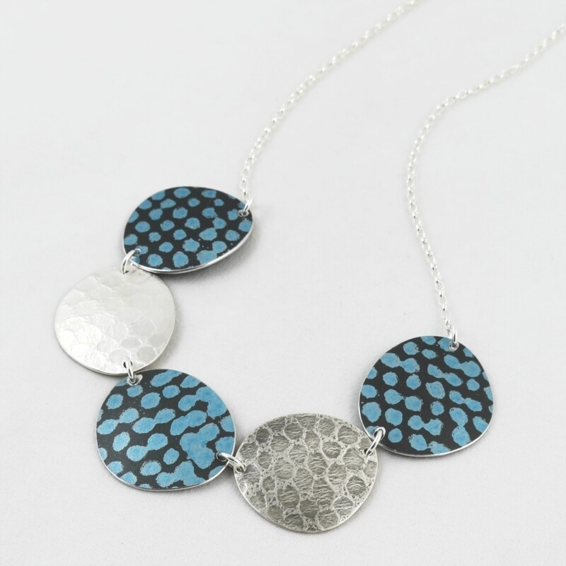 Multiple Disc Necklace , by Penny Warren