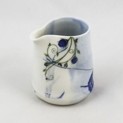 Small Porcelain Jug by Helen Harrison
