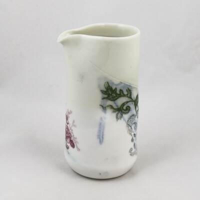 Tall Porcelain Jug by Helen Harrison