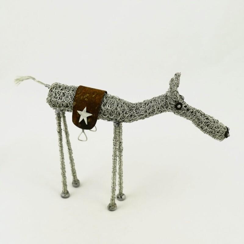 Wire Horse Sculpture, by Sarah Jane Brown