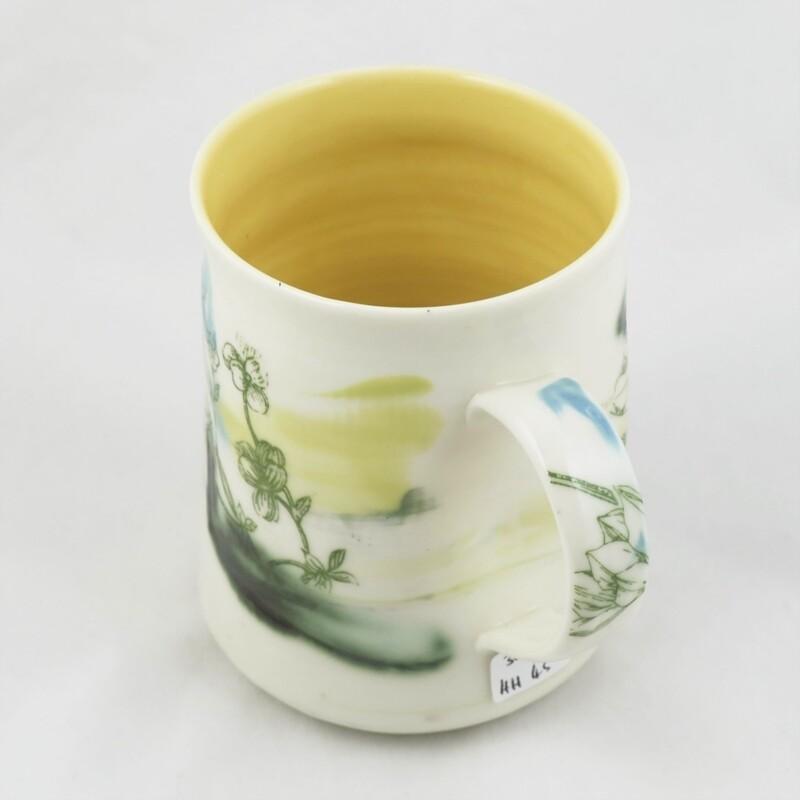 Porcelain Mug by Helen Harrison