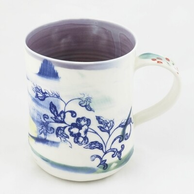 Porcelain Mug by Helen Harrison