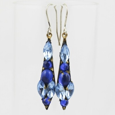 Vintage Bead Earrings, by Annie Sherburne