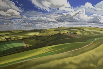 Ranscombe Bottom, by Anna Dillon