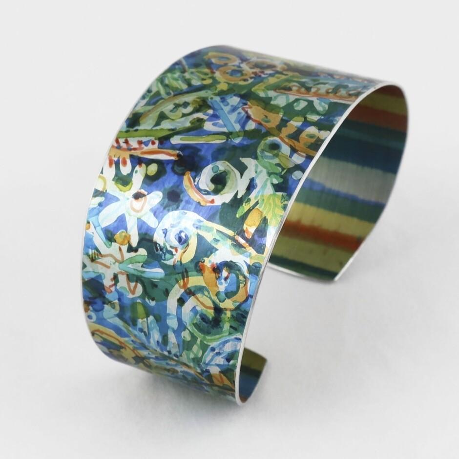 Colourful & Unique Cuff, by Misha Seelhoff