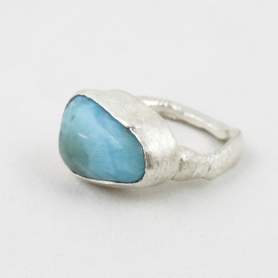 Larimer & Eco Silver Ring, by Sarah Drew