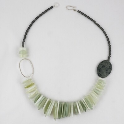 Jade Shard Necklace by Melissa James