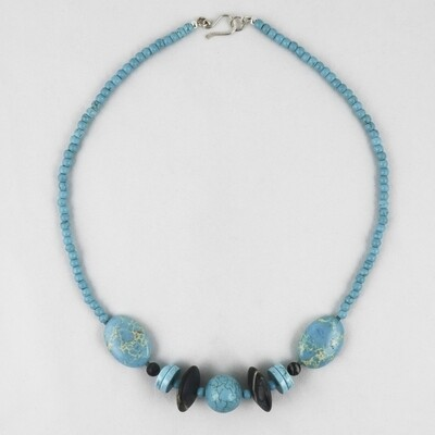 Picasso Turquoise Necklace by Melissa James