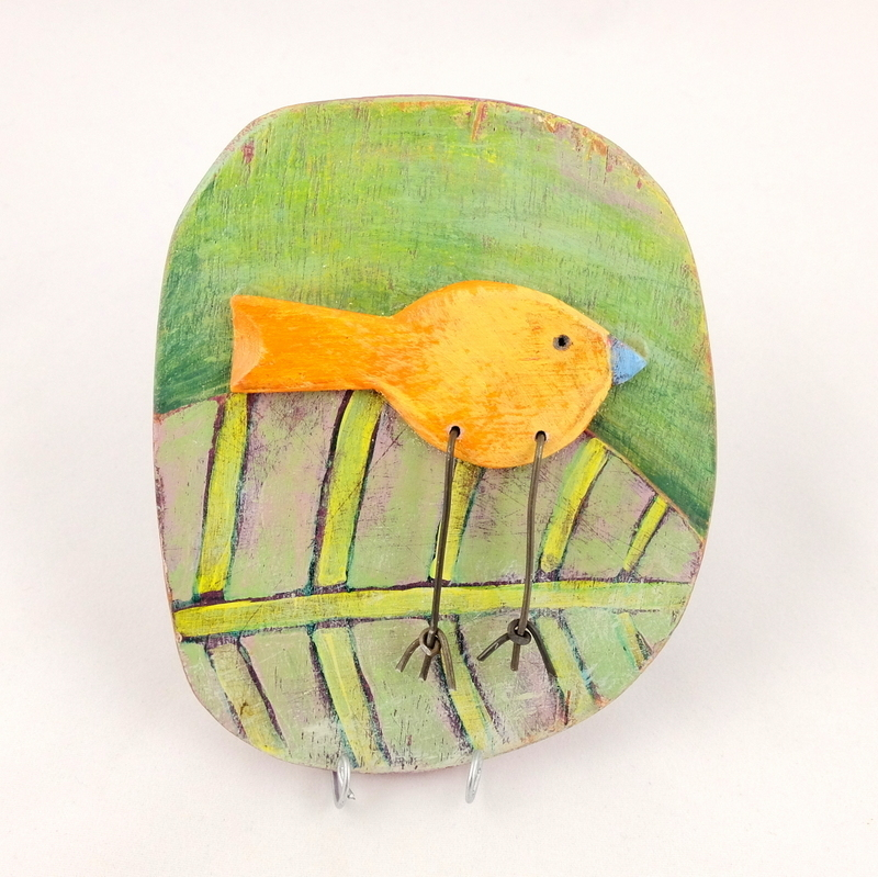 Bird Plaque, by Frances Noon