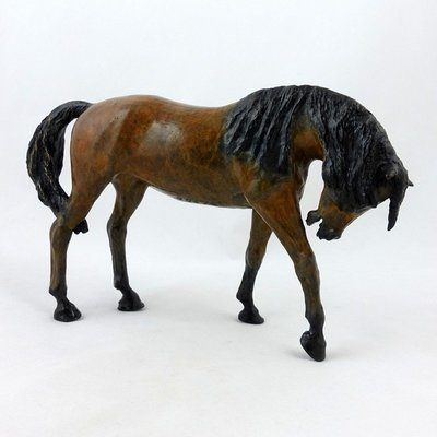 Walking Horse. Bronze Sculpture, by Jacquie Billington