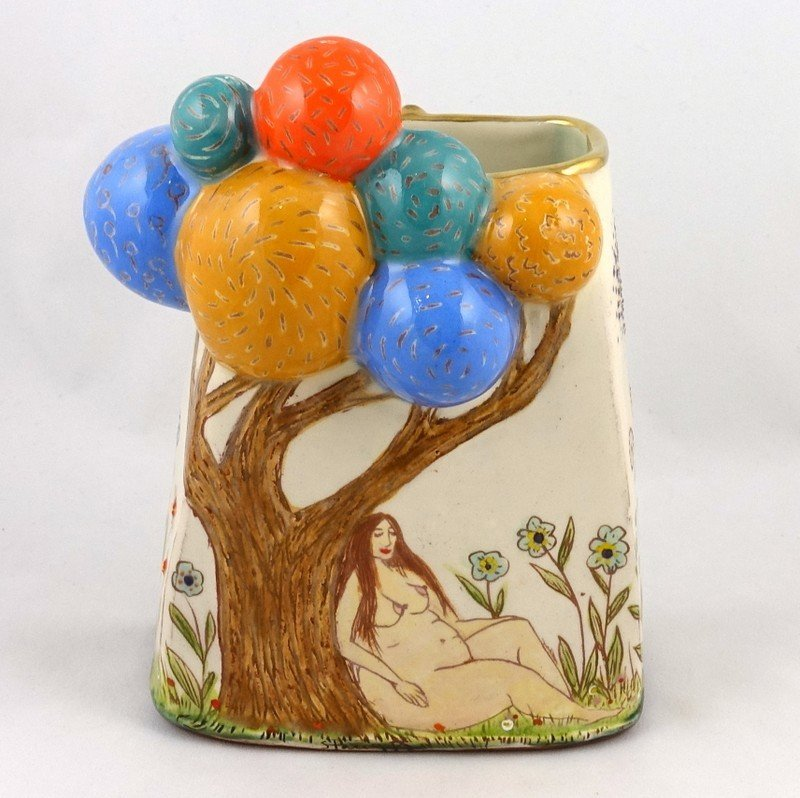 The Bubble Tree, a Vase by Stacey Manser-Knight