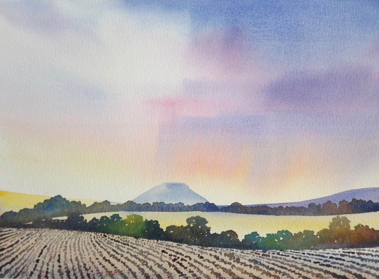 Silbury Hill, by Ian Scott Massie
