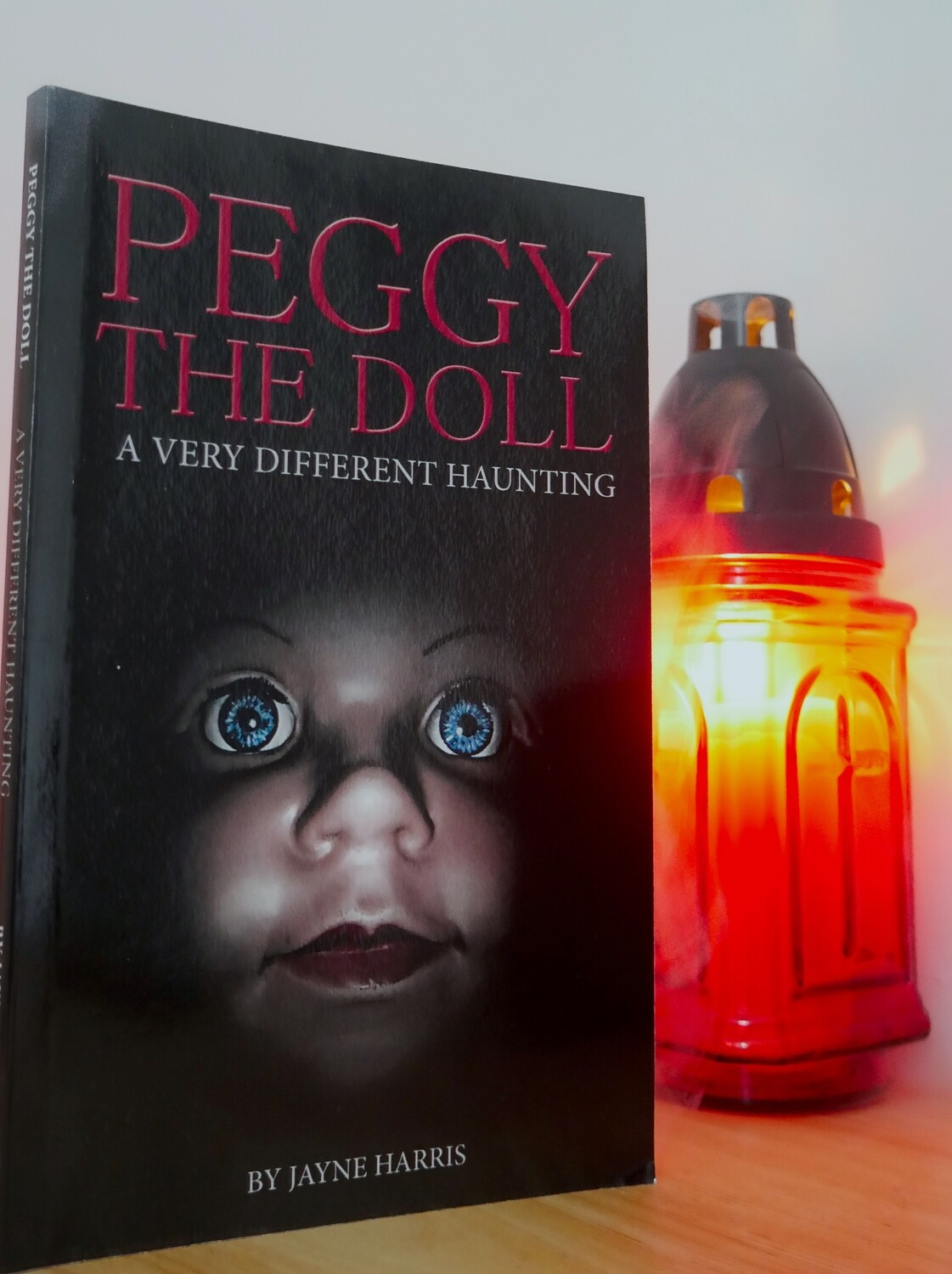 Peggy The Doll paperback - SIGNED COPY