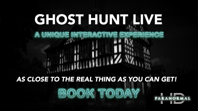 Virtual Ghost Hunt LIVE! - Grange Court