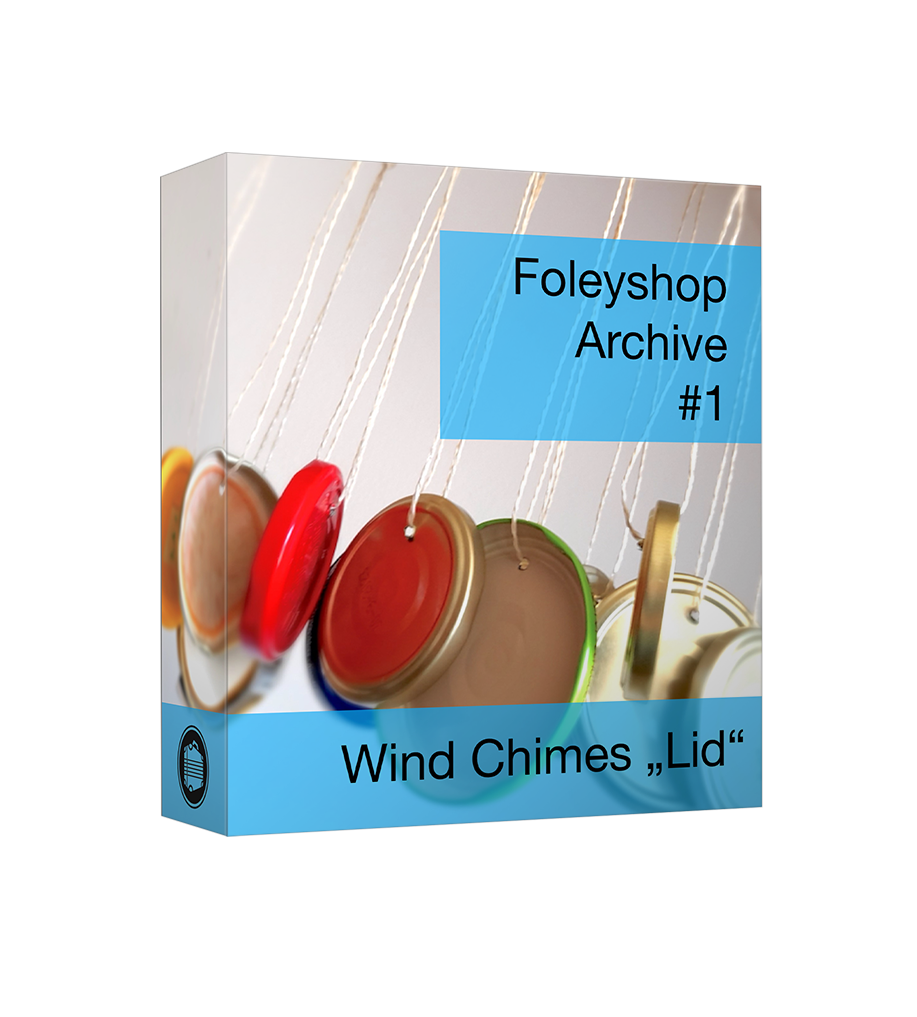 "Foleyshop Archive #1 - Wind Chimes ""Lid"""