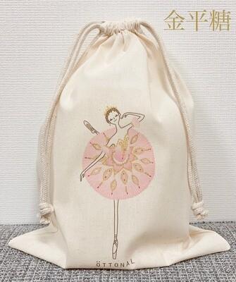 Sugar Plum Fairy(Pink) Cotton Purse