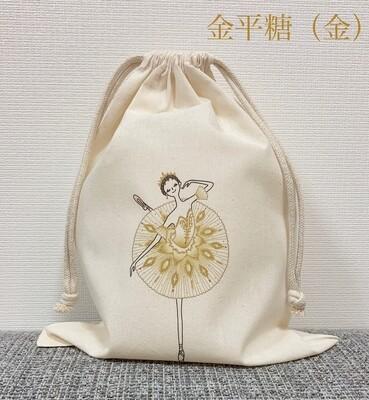 Sugar Plum Fairy(Gold) Cotton Purse