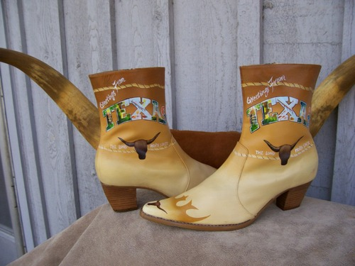 Hand Made and Hand Painted Texas Longhorns!