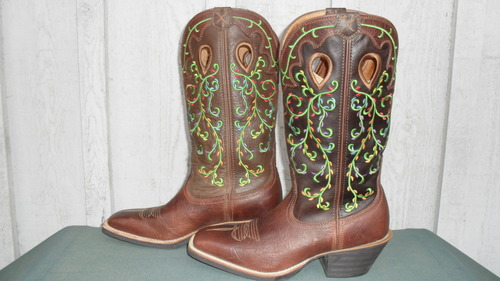 Twisted X Ruff Stock Boots...sassy in or out of the saddle