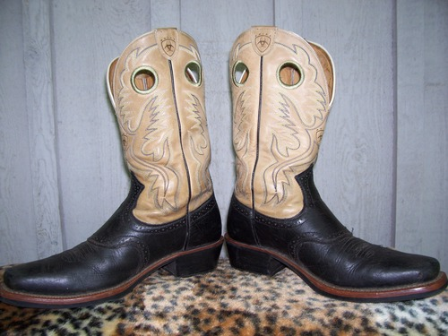 These beautiful Ariat boots could have kept Elvis from being fired!