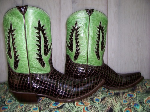 Johnny Ringo...great boots for the Rocker in you!
