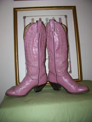 Patchouli Oil and Abilene's Luscious Lavender Boots
