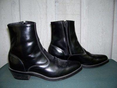 Laredo Long Haul side zip boot made by Dan Post...so versatile!