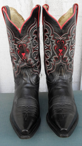 Wear Your Heart on Your Tony Lama Boots!