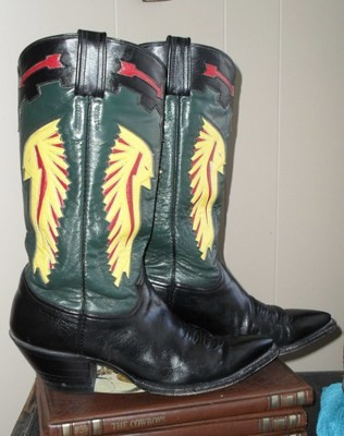 """Epic """"Big Chief"""" boots by the epic folks at CABOOTS"""