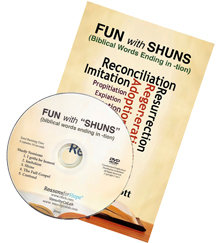 Fun with Shuns (Biblical words ending in -tion)