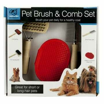 Pet Brush & Comb Set