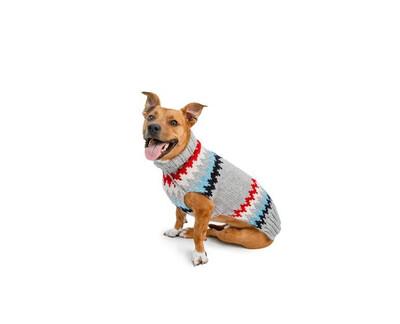 Chilly Dog Grey Chevron Sweater | XL