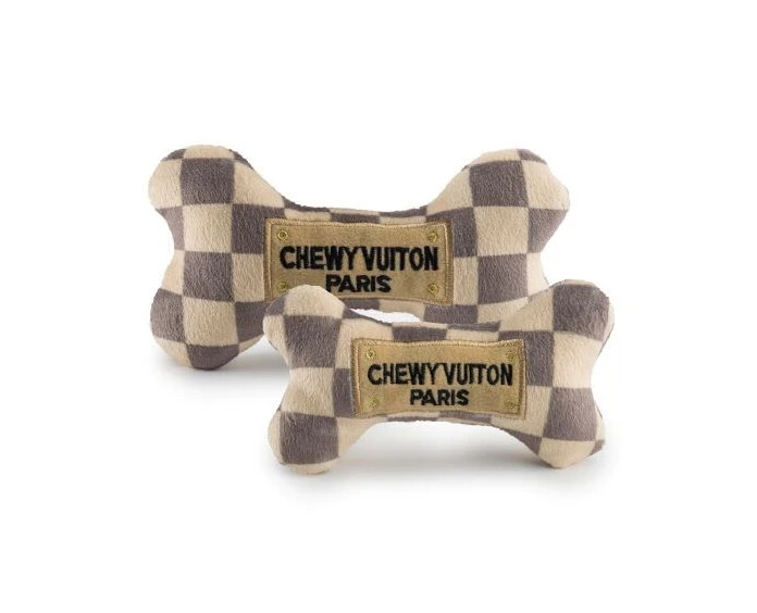 Haute Diggity Dog Checker Chewy Vuiton Bones
