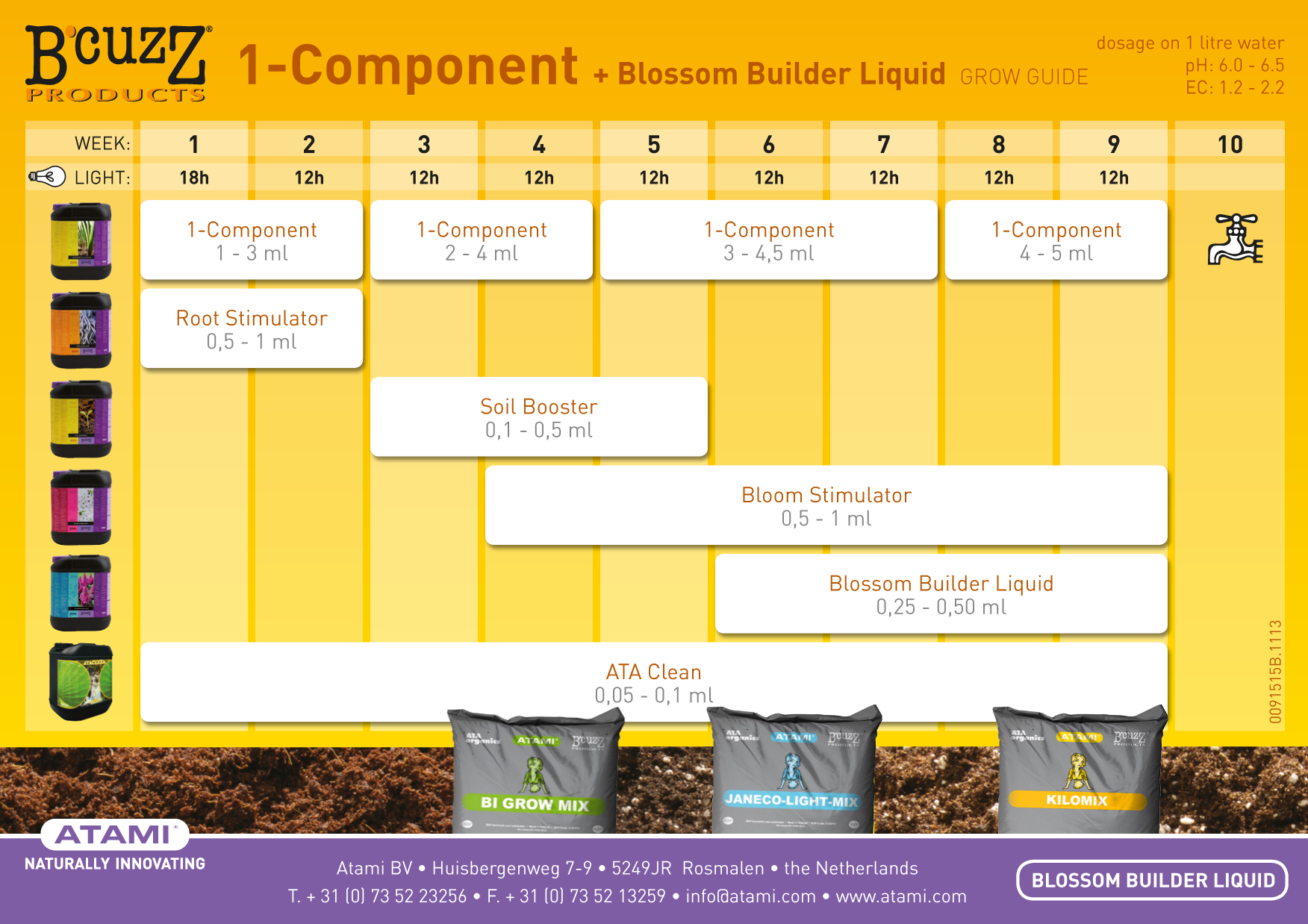 B'cuzz Soil Booster Universal