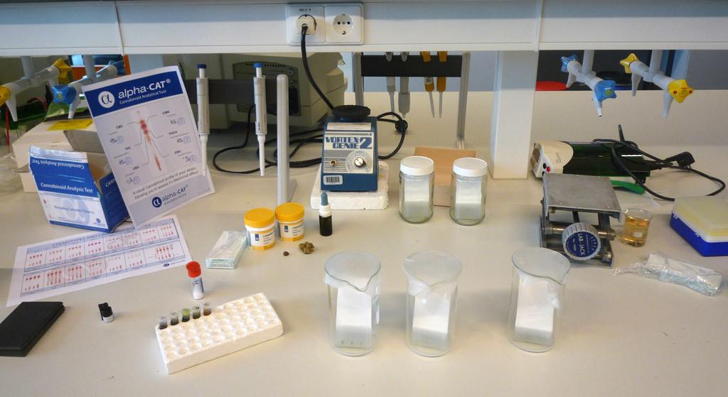 Тест для определения содержания каннабиноидов (8 тестов)