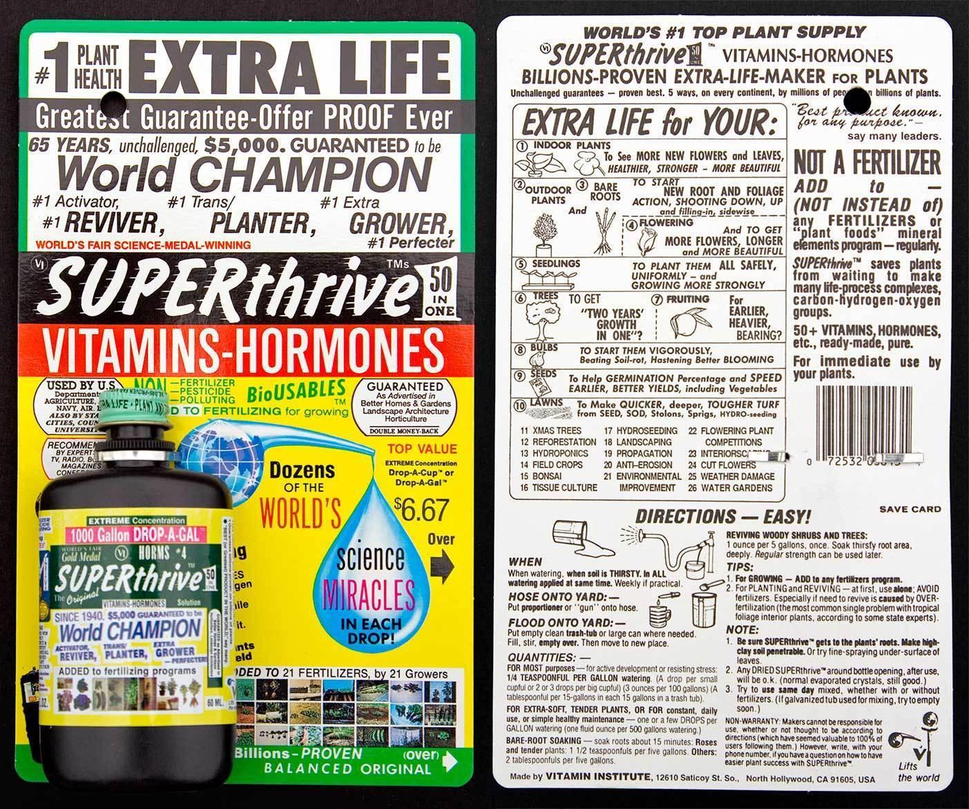 Superthrive (витамины для растений)