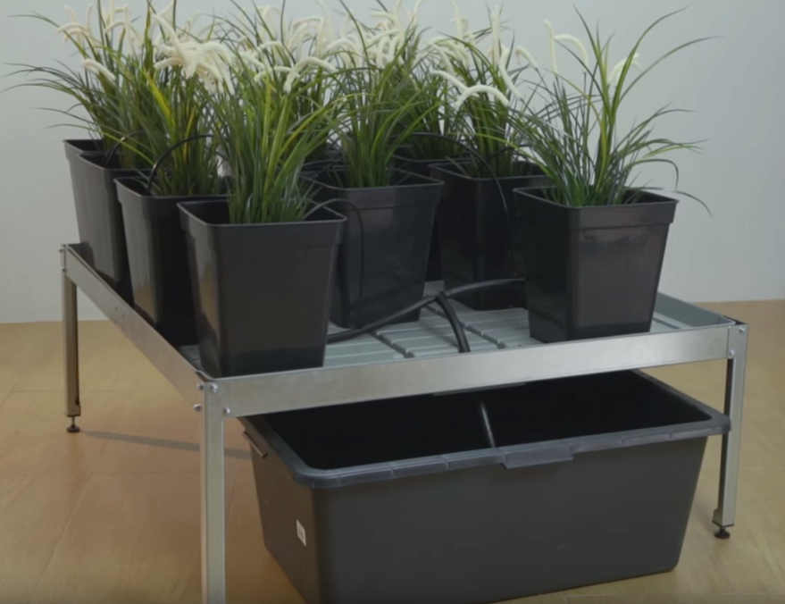 Стол для выращивания и полива растений (комплект)