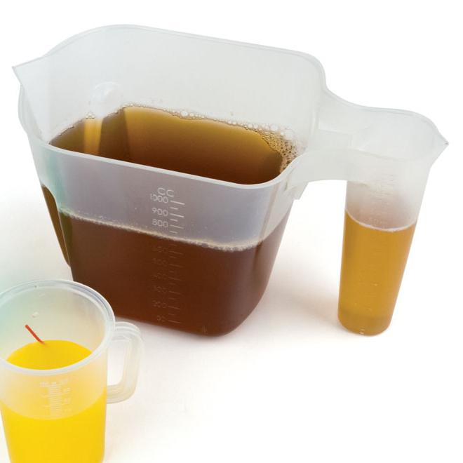 Сосуд для полива растений удобрениями 2 в 1 (1 литр)
