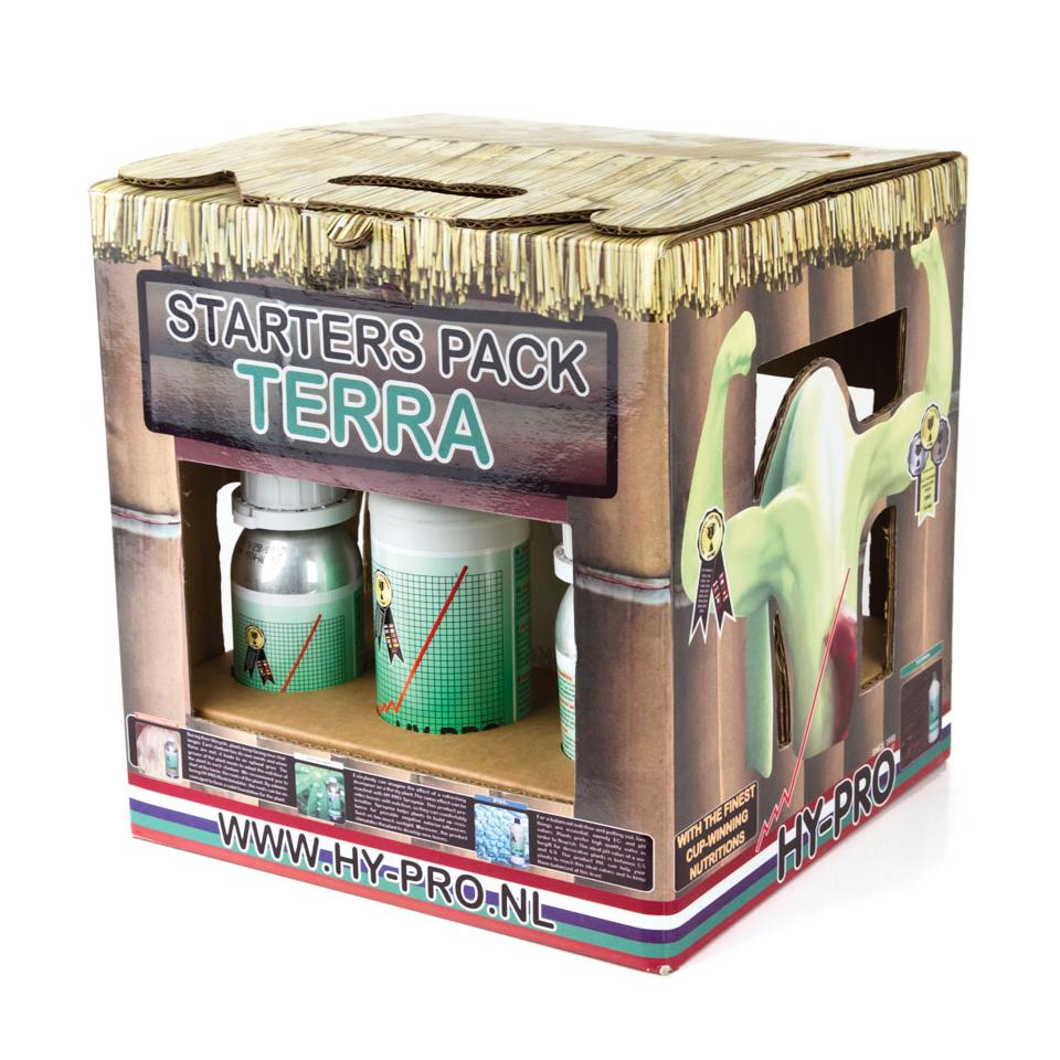 Hy-Pro - Starters Pack Terra (стартовый комплект для выращивания конопли в земле)