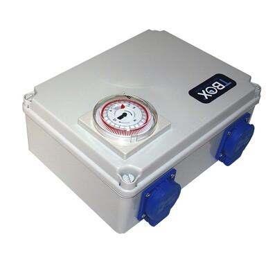 Таймер TBox 4 для подключения ламп в гроубоксах и теплицах (4x600W) 00501