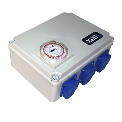 Таймер TBox 6 для подключения ламп в гроубоксах и теплицах (6x600W) 00500