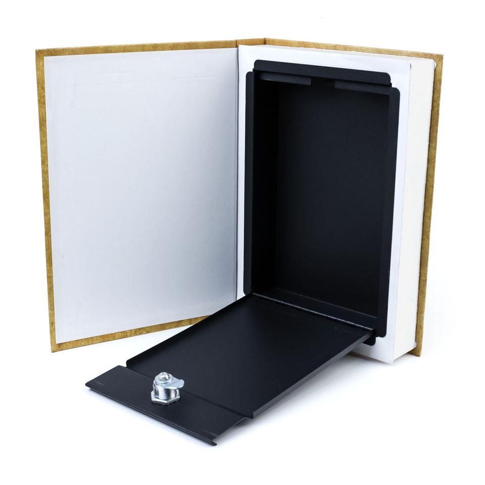 Книга-тайник (мини сейф внутри)