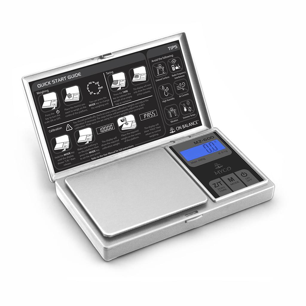 Электронные весы Myco MZ600 (максимальный вес 600 грамм / точность 0.1 грамм)