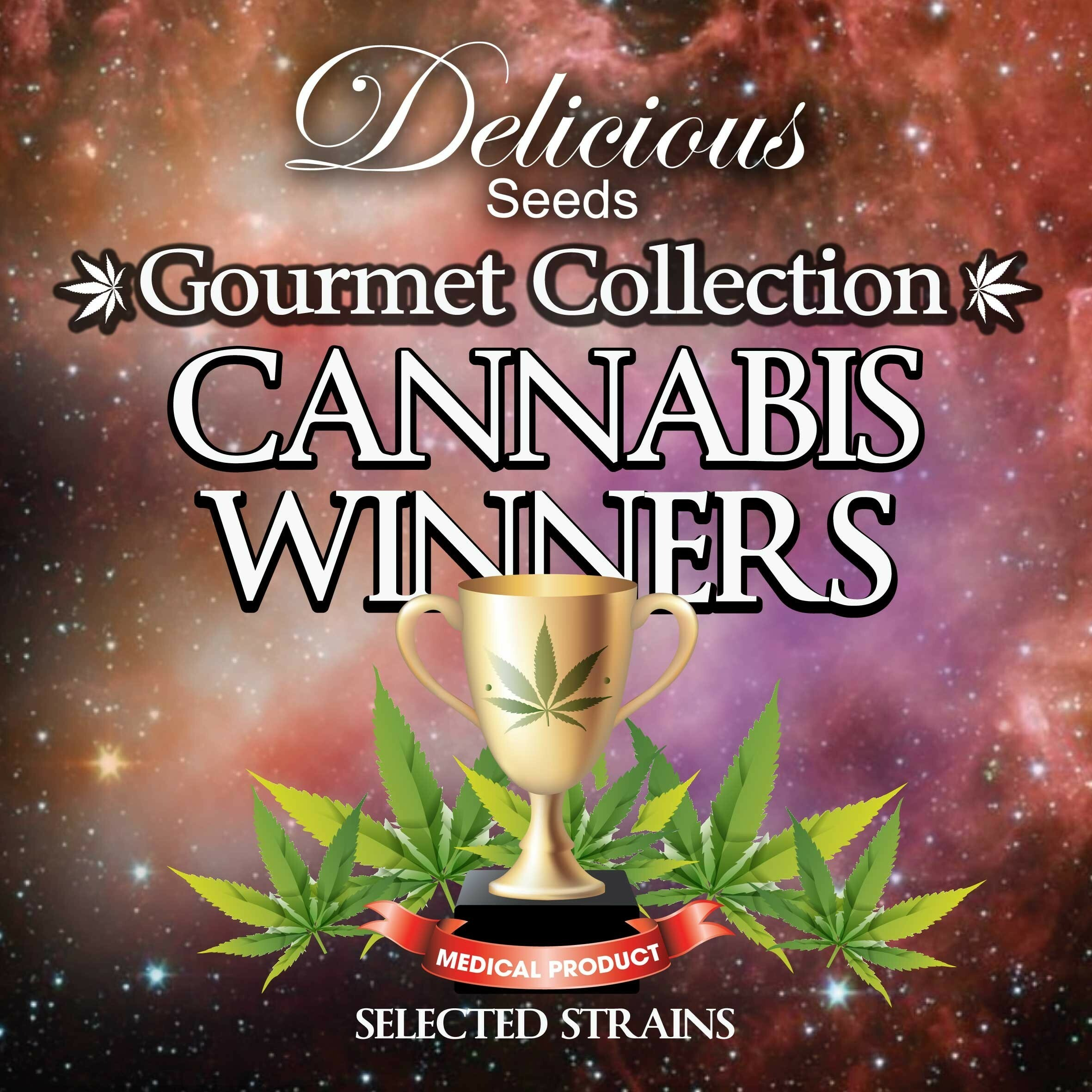 Delicious Seeds - Cannabis Winners (fem.)