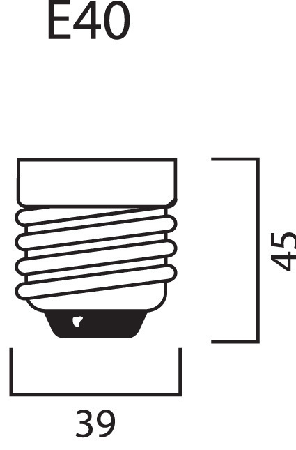 Натриевая лампа высокого давления для выращивания растений Sylvania 150W